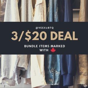 🍁 3 ITEMS FOR ONLY $20 🍁
